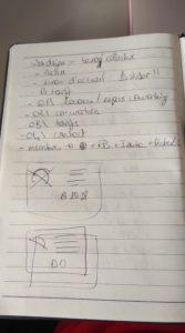 Réflexion sur papier part 1